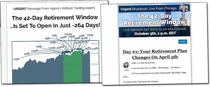 42-Day Retirement Window