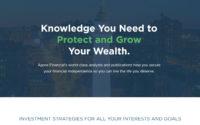 Agora Financial Publications Website Screenshot