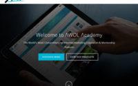 AWOL Academy System Website Screenshot