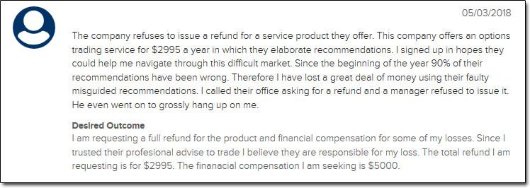 Banyan Hill Publishing Complaint 2