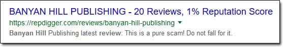 Banyan Hill Publishing Reviews 1