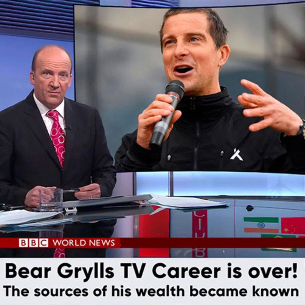 Bear Grylls TV Career Is Over